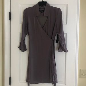 LULU's wrap around dress!